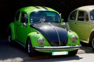 Black and Green Beetle in Coronado, California - VeteranCarDonations.org