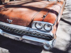 Rusting Old Car | Veteran Car Donations