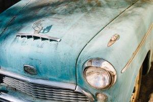Rusty Oldtimer Car | Veteran Car Donations
